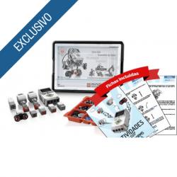 LEGO® MINDSTORMS® Education EV3 + Fichas iniciales paso a paso