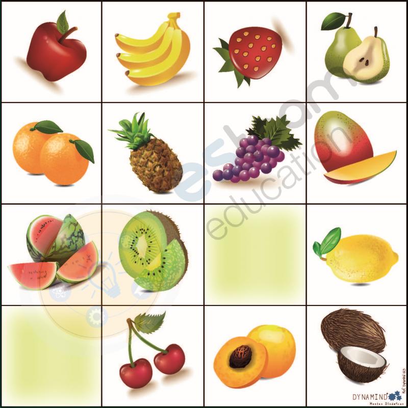 Tapete Frutas