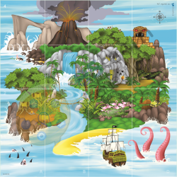 Tapete Isla del Tesoro