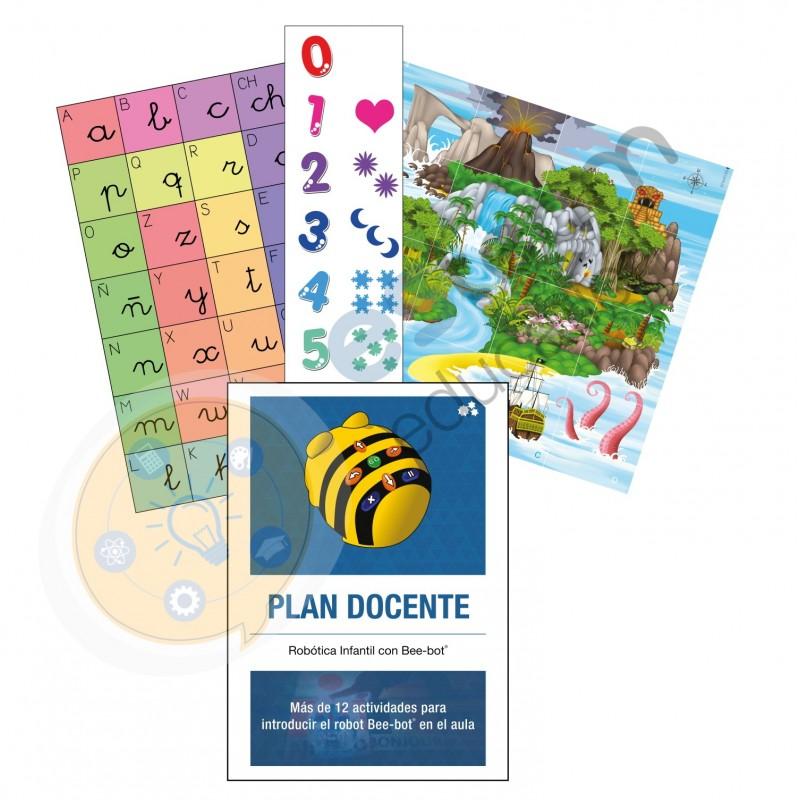 """Pack libro """"Actividades educativas con Bee-Bot: iniciación"""""""