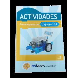 Manual primeros pasos para mBot y Explorer Kit