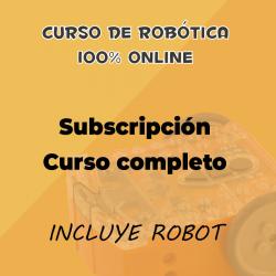 Suscripción completa al curso online de robótica educativa