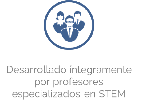 Desarrollado por profesionales con experiencia en STEM