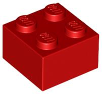 2x2 rojo