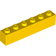 pieza larga amarilla