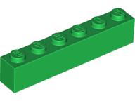 pieza larga verde