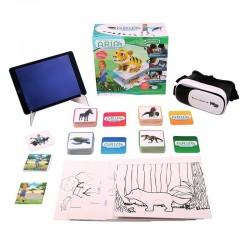Conjunto Educacional Interactivo de Realidad Aumentada Las Aventuras de Aria Wise Toys